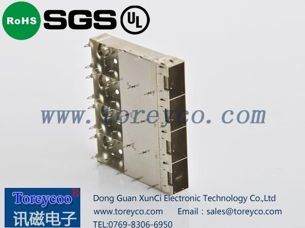 SFP光纤连接器1×4