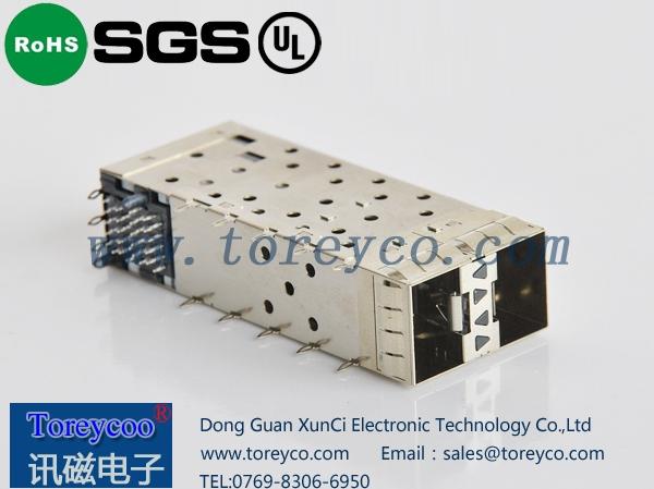 SFP光纤连接器2×1