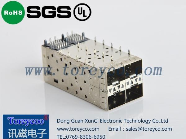 SFP光纤连接器2×2