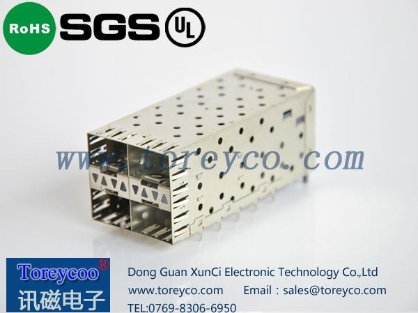 SFP 2×2光纤连接器